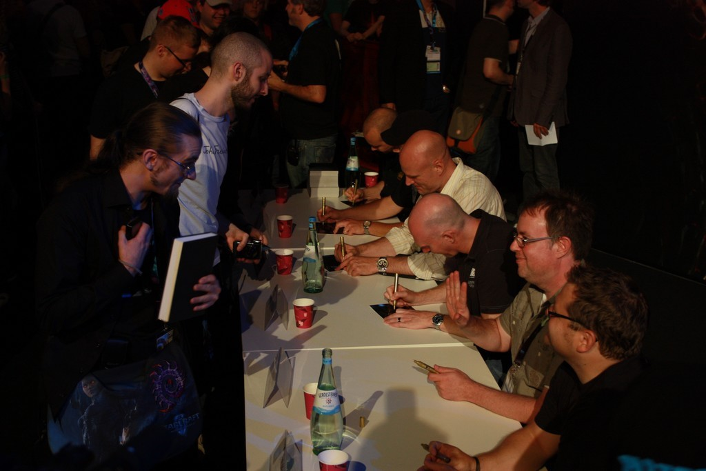 Developer Signing Session