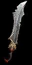 Мощное одноручное оружие