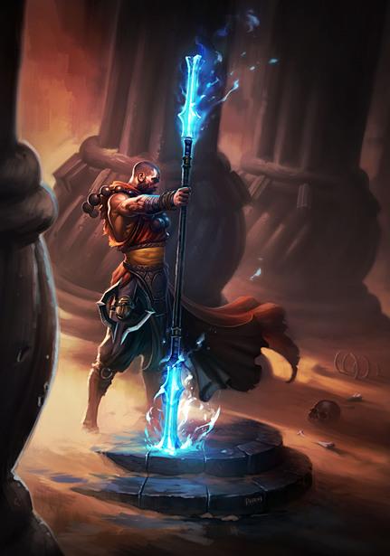 Монах Diablo 3