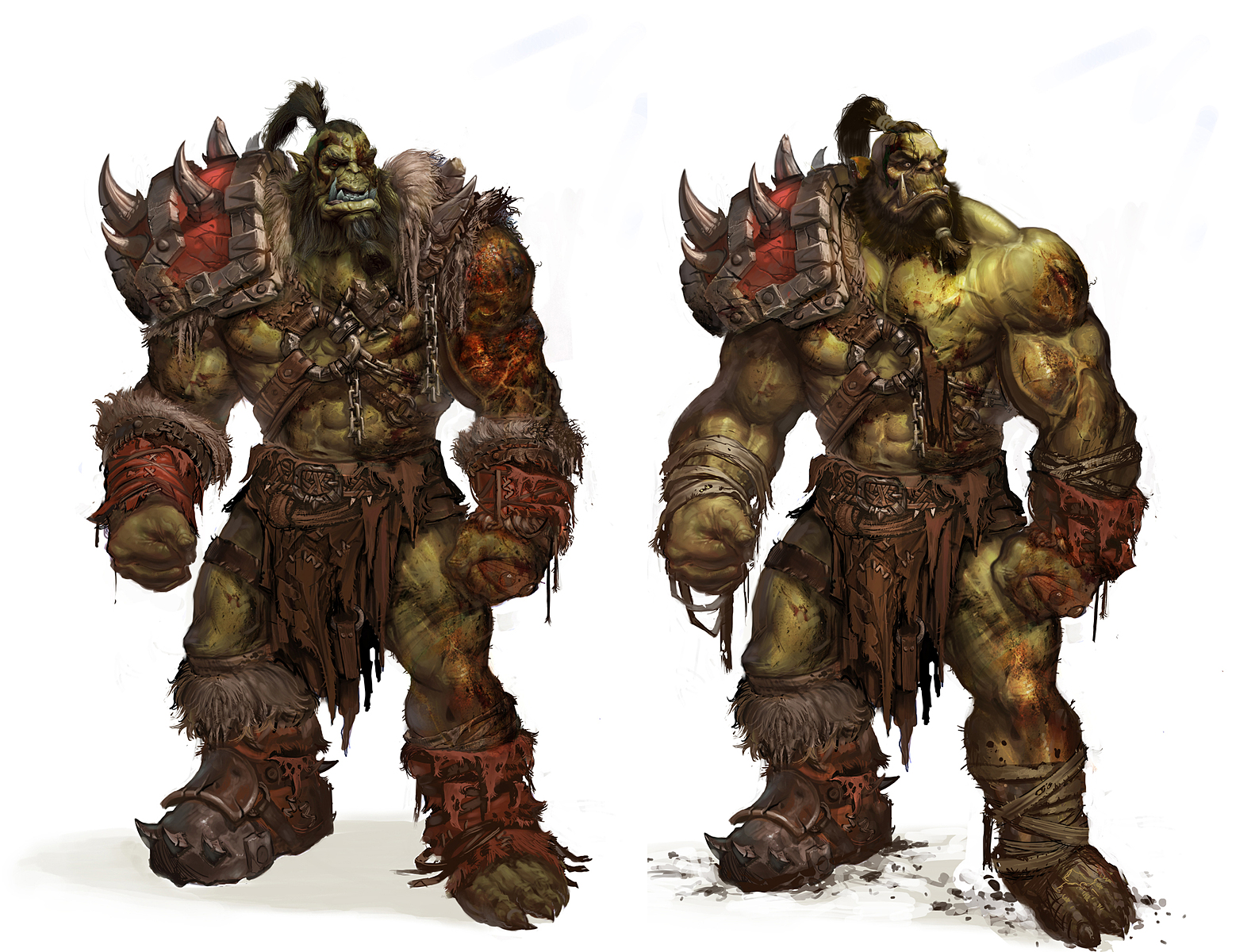 new orc model keep the hunch page 19