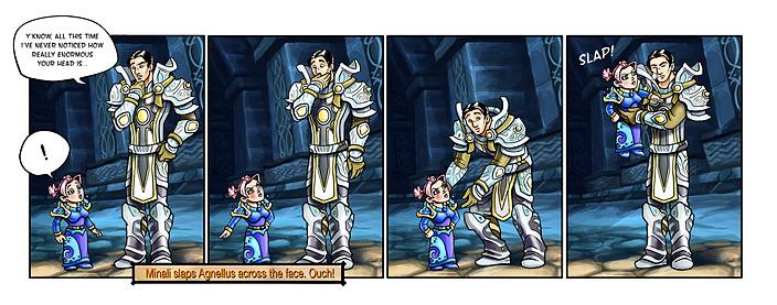 Новые комиксы по World of Warcraft Cataclysm