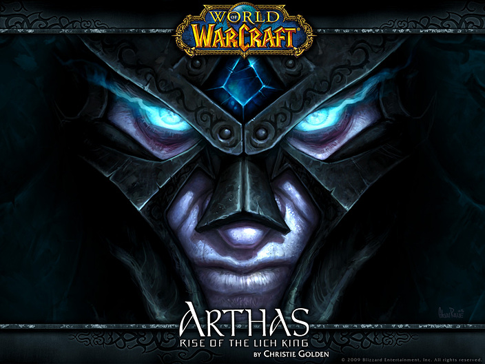 world of warcraft arthas wallpaper. Arthas: Rise of the Lich King