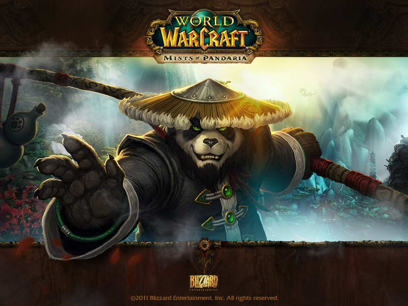World of Warcraft Mists of Pandaria обои скачать